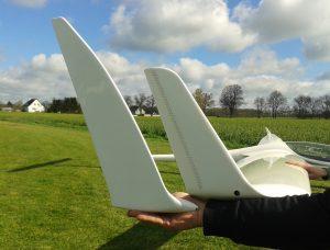 Das Standard Winglet und der Eigenbau im Vergleich