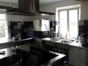 Die neue Küche ist nun gänzlich betriebsbereit