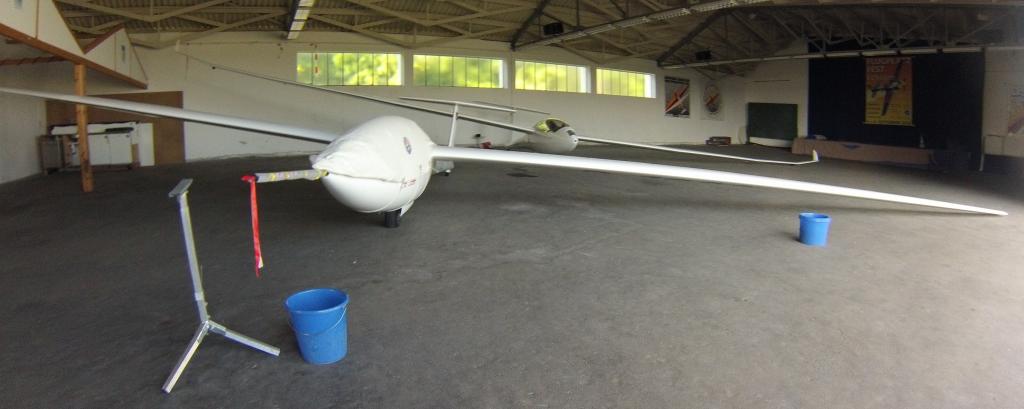 Referenzsegelflugzeug auf dem Sommertreffen in Aalen © idaflieg e.V.