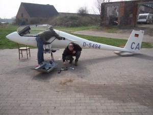 Letzte Flugzeugbauten