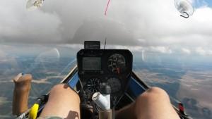 Zacherbesteck im Cockpit